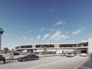 Skybridge to connect airport to new METRONET station