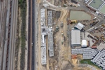 Forrestfield Station reaches new heights at 50 per cent completion