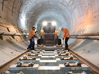 Tunnel fit-out and track laying fact sheet
