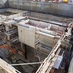Bayswater Junction lift shaft progress - August 2019