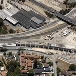 Aerial view of Bayswater Junction portal - January 2020