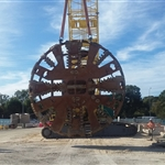 Cutterhead lift TBM Grace - February 2020
