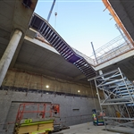 Redcliffe Station stair installation - August 2020