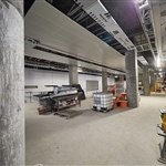 Airport Central Station platform level fit-out - October 2020