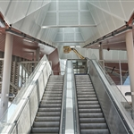 High Wycombe Station escalators - December 2020
